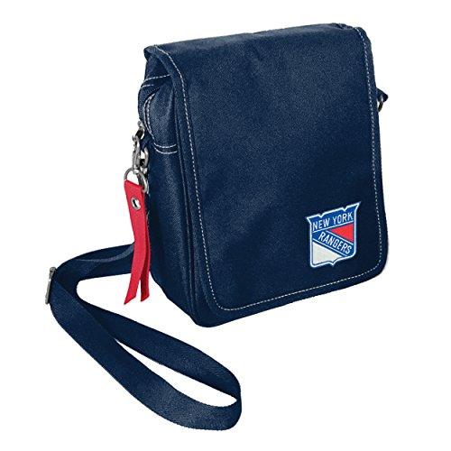 NHL New York Rangers Ribbon Satchel Purse
