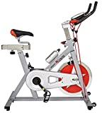 Body Xtreme Fitness 2-in-1 Exercise Bike, Speed Demon-250, Home Workout Equipment, New Design, 40lb Flywheel, Resistance Bands, Drink Bottle, Fitness Cycle + BONUS COOLING TOWEL (Silver with Red) Review