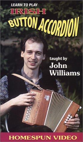 John Williams: Learn to Play Irish Button Accordio [VHS] (Accordion Williams John)