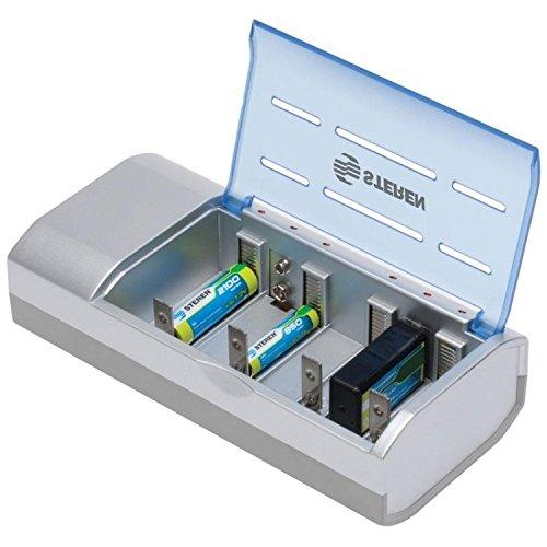 STEREN Cargador Universal AA/AAA/C/D/9V S/P 2100Mah Crg-500
