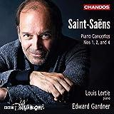 Saint-Saens: Piano Concertos Nos 1, 2 & 4
