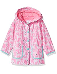 Carter's baby-girls Infant and Toddler Girls' Printed Hooded Rain Coat