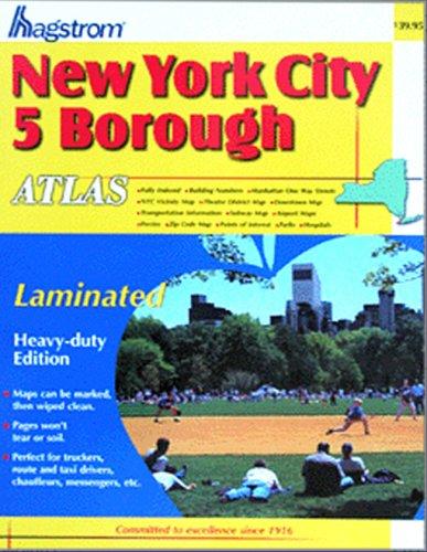 New York City 5 Borough Atlas (Hagstrom New York City Five Borough Atlas (Spiral/Laminated))