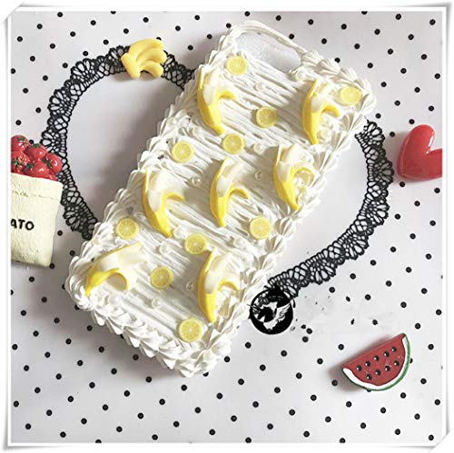 One Life ,one jewerly Apple Cream Cell Phone Shells for Original Cooking, Dessert, Chocolate Party, Hand-Made (phone7P/8Plus)