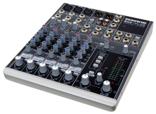 Mackie 8 Bus - Mackie 802-VLZ3   High-performance Vlz3 Series Ultra-compact Industry-standard Mixing Station, 802vlz3 with High-headroom, Low-noise Design, Premium Xdr2 Preamps, and Modern Summing Bus Architecture (8-channel)