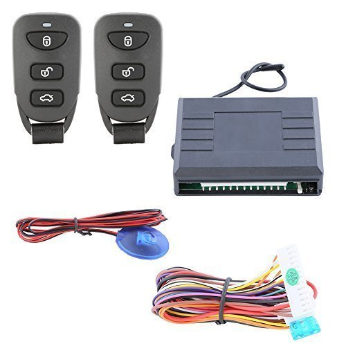 Universal Keyless Entry System for Cars with Remote Trunk Release Central Door Lock Locking