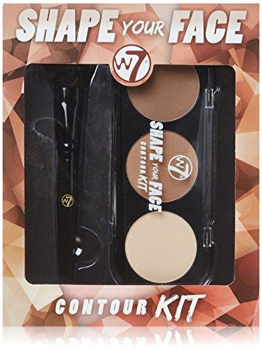 W7 Shape Your Face Contour Kit Includes Palette & - Of Face Your Shape