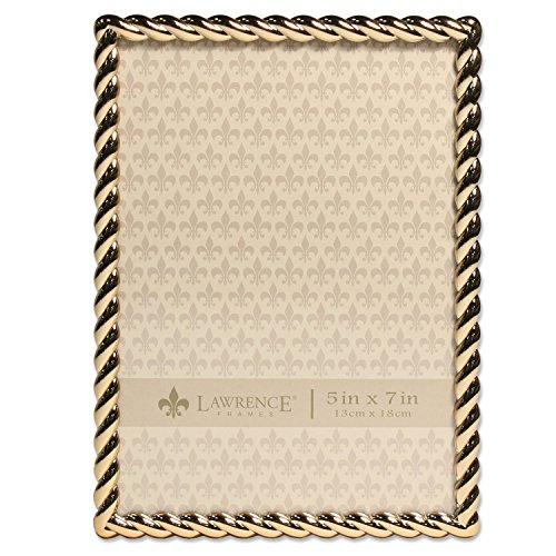 5x7 Golden Rope Picture Frame