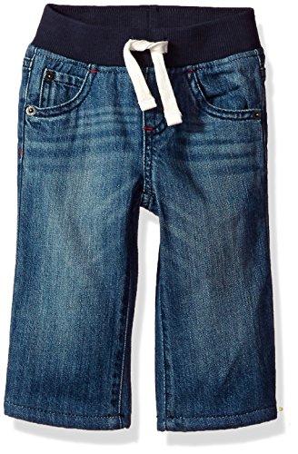 - Gymboree Baby Boys Fleece-Lined Jeans, Dark wash Denim, 6-12 mo