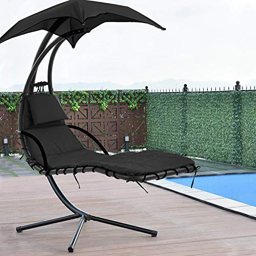Lounge in a chair hammock
