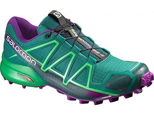 Salomon Speedcross 4 Women veridian green/athletic green x/passion purple