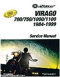 LIT-11616-XV-11 1984-1999 Yamaha XV700 750 1000 1100 Virago Motorcycle Service Manual