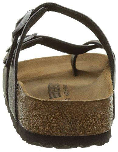 Birkenstock Mayari, Mules para Mujer Gris (Pull Up Anthracite)