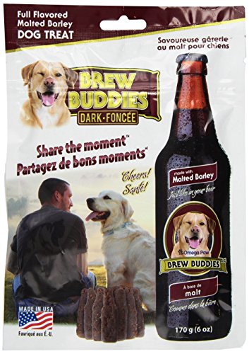 Omega Paw s Brew Buddies Dark Chew, Adult