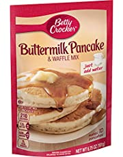 Betty Crocker Bisquick Baking Mix, Complete Pancake Mix, Buttermilk, 6.75 Oz Pouch (Pack of 9)