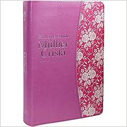Bíblia de Estudo da Mulher Cristã - Grande Rosa