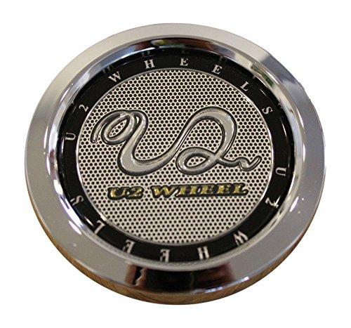 U2 Wheels CCVE70-1P Chrome Snap In Center Cap