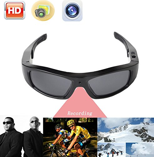 JOYCAM Sunglasses with Camera Video Recording HD 720P Polarized UV400 Glasses Wearable Sports Action - Sunglasses Record Video