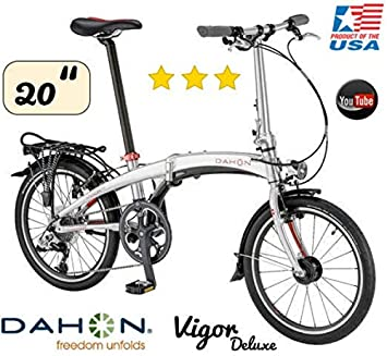 Dahon bicicleta plegable Vigor D9/20/9gang/Deluxe Versión