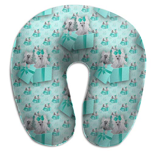 - Pummbaby The Gift of York Dog U-Shaped Neck Pillow Rest Airplane Support Soft Travel Ornament Decorations Decor Fun Soft Tv Living Room Decorative Theme Outdoor Indoor Party Set