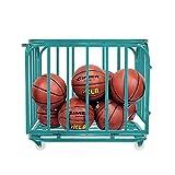 GIMER 10/600 BASKET BASKETBALL PORTAPALLONI 80 x 60 x 70CM BASKETBALL SPORT