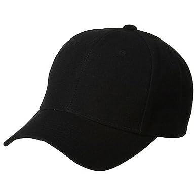 Magic Fitted Cap-Black W35S57F at Amazon Men s Clothing store  Baseball Caps 16d48f4b7e17