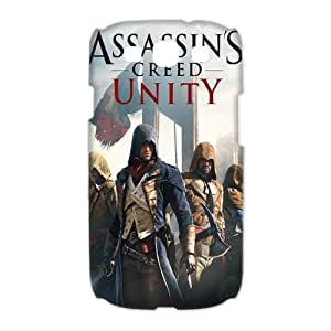 Samsung Galaxy S3 I9300(3D) Phone Case for Assassin's Creed pattern design