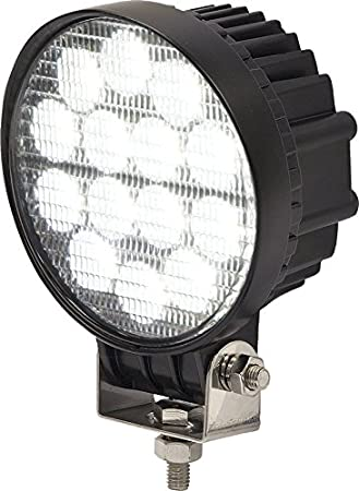 Buyers Products 1492126 Clear 5 Round 12V-24V DC 6 LED Spot Light