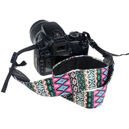 CEARI-VSM-06-Vintage-Camera-Shoulder-Neck-Strap-for-Canon-EOS-Rebel-T6S-T6-T5i-T5-T4i-T3i-T3-T2i-T1i-XTi-XT-XSi-XS-SL1-Digital-SLR-Camera-Pink