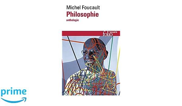 Philosophie: Anthologie (Folio Essais): Amazon.es: Michel Foucault: Libros en idiomas extranjeros