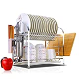 Hyun times Drain kitchen shelving rack dish rack dish rack kitchen utensils hanging wall storage rack double bowl