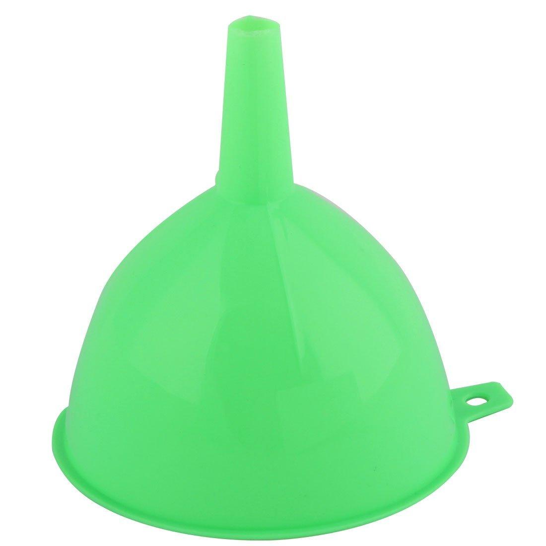 Amazon.com: eDealMax plástico Domésticos de Cocina de transferencia de petróleo Agua Vinagre líquido filtro Embudo 2 Pcs verde: Kitchen & Dining