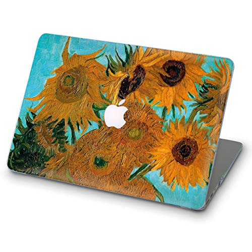 ZVStore MacBook Protective Plastic Sunflowers product image
