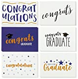 36 Pack Graduation Cards - Blank Greeting Cards - Greeting Cards Bulk Set Graduation Greeting Cards - Congrats Grad Card Set - Congratulations Graduation Cards - Envelopes Included, 4x6 inches