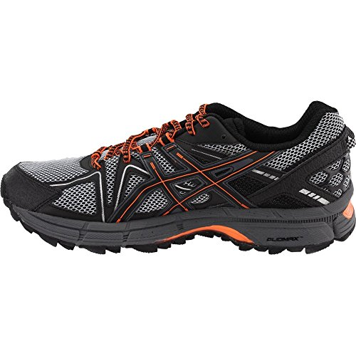 ASICS Mens Gel-Kahana 8 Running Shoe Black/Hot Orange/Carbon 7 Medium US by ASICS (Image #3)