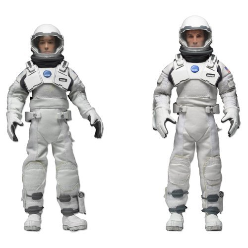 Neca Interstellar 8-Inch Retro Action Figure 2-Pack