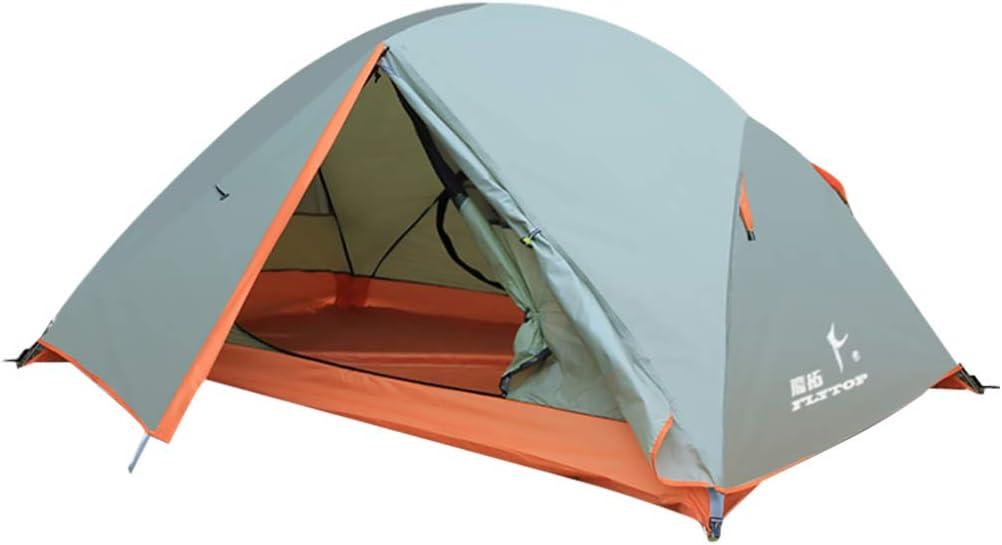Besportble barraca de acampamento com duas camadas resistentes à água para duas pessoas