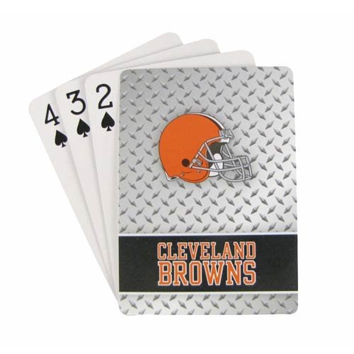 NFL Cleveland Browns Playing Cards