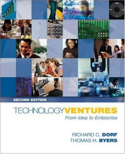 Technology Ventures: From Idea to Enterprise with Student