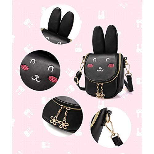 niños Ear Long 3 diseño Rabbit Bolso Bandolera Azul Color Light Rabbit para Blue Ear 69x2 75x6 Claro de 6 Dabixx Perro Long 7x7x16cm Red 14Rqtwn1