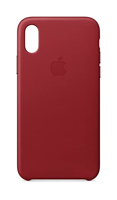 new style 1e7d3 dd724 Apple Leather Case (for iPhone X) - (PRODUCT)RED
