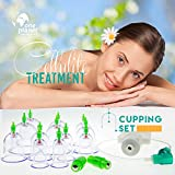 Cupping-Therapy-Set-By-One-Planet-12-Pieces-Biomagnetic-Chinese-Body-Therapy-Pain-Relief-Cellulite-Treatment-Professional-Kit-With-Pumping-Handle-Heal-Yourself-Today