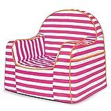 P'Kolino Little Reader Chair, Stripes Pink