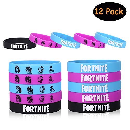 Gaming Party Supplies Bracelets Party Favors - Gamer Birthday Party Packs for Kids­