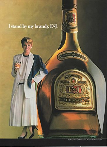 Magazine Print Ad: 1986 E&J Brandy, Original Extra Smooth,