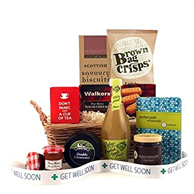 Get well soon gift hamper to send to hospital patient with get well soon gift hamper to send to hospital patient with crossword get well gift negle Images