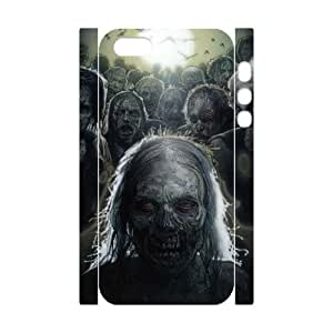 QSWHXN Cell phone Protection Cover 3D Case The Walking Dead For Iphone 5,5S