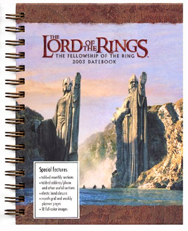 Lord of the Rings Datebook (2003)