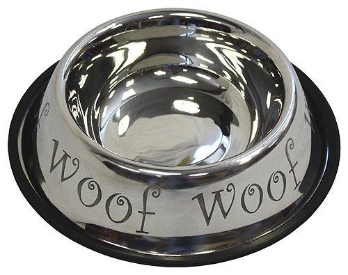 APetProject 24 oz. Stainless Steel Anti-Skid Dog Bowl