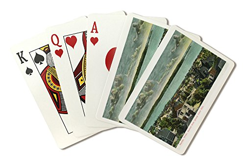 Seattle, Washington - Harborview from Queen Anne Hill (Playing Card Deck - 52 Card Poker Size with Jokers)